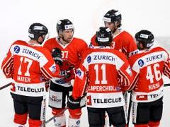 Der EHC Visp bestreitet heute in seiner neuen Lonza-Arena das erste Pflichtspiel - gegen den HC La Chaux-de-Fonds (Bild: KEYSTONE/SALVATORE DI NOLFI)