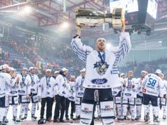 Cupsieger Zug startet auswärts in Thurgau in die neue Cup-Saison (Bild: KEYSTONE/MELANIE DUCHENE)