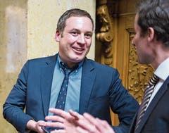 Von allen Kandidaten, die am 20.Oktober wieder antreten, erzielte Lukas Reimann (SVP) vor vier Jahren das beste Resultat. Bild: Keystone