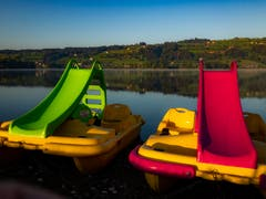 Ende der Badesaison – der Herbst ist da! (Bild: Stefan Kunz, Baldeggersee, 12. September 2019)
