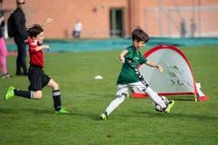 Geht der Ball ins Tor? (Bild: Claudio de Capitani)
