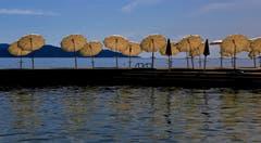 Schattenplätzchen in Opatija auf der istrischen Halbinsel. Bild: André Egli (Kroatien, 10. September 2019)