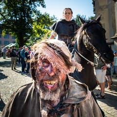 Diese Gestalt wollte entkommen. Bild: Christian H. Hildebrand (Zug, 15. September 2019)