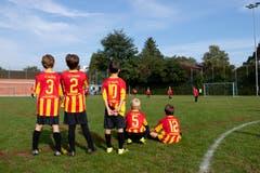 Fleissige Beobachter des FC Wabern. (Bild: Claudio de Capitani)