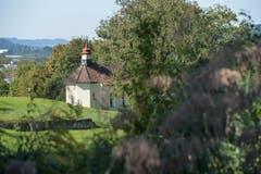 Blick auf die Kapelle neben dem Burgweier-Areal.