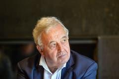 Sie haben den Kauf der Burgweier durch die Stadt eingefädelt: Hans Jörg Schmid, der bisherige Eigentümer, und...