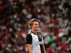 Und Ex-Captain Matthijs de Ligt steht neu für Juventus Turin auf dem Platz (Bild: KEYSTONE/EPA/WALLACE WOON)