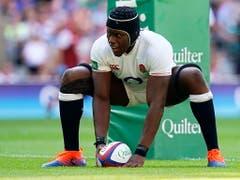 und England (Marco Itoje), der bisher einzige Rugby-Weltmeister von der nördlichen Halbkugel (Bild: KEYSTONE/EPA/WILL OLIVER)