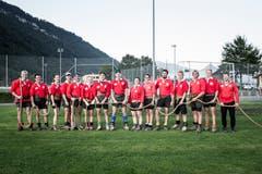 Die EM-Teilnehmer beim Training im Eichli in Stans. (Bild: Manuela Jans-Koch (Stans, 29. August 2019))