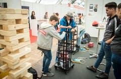 Weinfelden TG - Impressionen von der Thurgauer Berufsmesse 2019 in Weinfelden.
