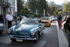VW Karmann GHIA 1966 (Bild: Corinne Glanzmann, Horw, 22. September 2019)