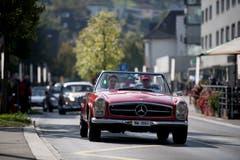 Benz Pagode 230 SL 1967 (Bild: Corinne Glanzmann, Horw, 22. September 2019)