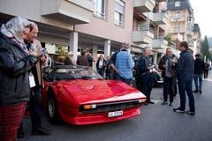 Ferrari 308 GTS 1980 (Bild: Corinne Glanzmann, Horw, 22. September 2019)