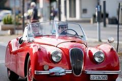Jaguar XK 120 50er Jahre (Bild: Corinne Glanzmann, Horw, 22. September 2019)