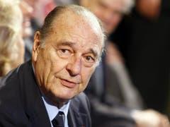 Der frühere französische Präsident Jacques Chirac ist 86-jährig gestorben. (Bild: Keystone/AP/FRANCOIS MORI)