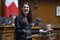 Tiana Angelina Moser, Fraktionschefin der Grünliberalen. Ebenfalls 8 Mitglieder hat Mosers Grünliberale Fraktion. (Bild: Keystone)
