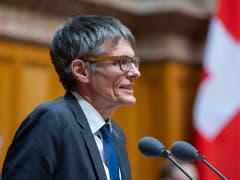 Einer von 48: Nationalrat Karl Vogler (CSP/OW) tritt nicht zur Wiederwahl an. (Bild: KEYSTONE/PETER KLAUNZER)