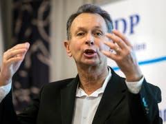 Einer von 48: Ständerat Philipp Müller (SVP/AG) tritt nicht zur Wiederwahl an. (Bild: KEYSTONE/ALEXANDRA WEY)