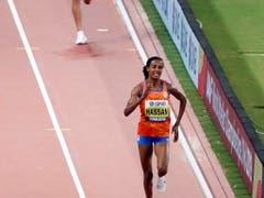 Sifan Hassen war über 10'000 m eine Klasse für sich (Bild: KEYSTONE/EPA/ROBERT GHEMENT)