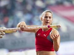 Angelica Moser erlebte einen schwierigen WM-Final (Bild: KEYSTONE/JEAN-CHRISTOPHE BOTT)
