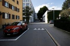 Guthirtstrasse/ Lauriedstrasse (Bild: Stefan Kaiser, Zug, 28. September 2019)