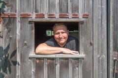 Patrick Kessler, der künstlerische Leiter des Audio-Festivals Klang-Moor-Schopfe in Gais. (Bild: Lisa Jenny - 28. August 2019)