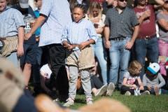Rund 3000 Zuschauer kamen ans Eidgenössische Frauen- und Meitlischwingfest. ((Bild: Eveline Beerkircher, Menznau, 29.9.2019)