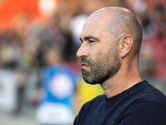 Für Xamax' Trainer Joël Magnin könnte der Sieg in Lugano ein Schlüsselerlebnis gewesen sein (Bild: KEYSTONE/LAURENT GILLIERON)