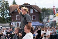Michelle Brunner ist die Schwingerkönigin. (Bild: Eveline Beerkircher, Menznau, 29.9.2019)