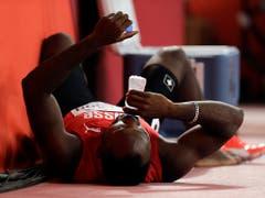 Alex Wilson musste für den Halbfinal über 200 m Forfait erklären (Bild: KEYSTONE/AP/PETR DAVID JOSEK)