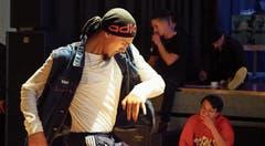 Emotion pur – Breakdance in seiner vollendeten Form. Wer sehen und hören will, wie sich die Teilnehmenden in den Battles präsentierten, lädt die App Xtend herunter und scannt das Bild. Bilder: Thomas Widmer
