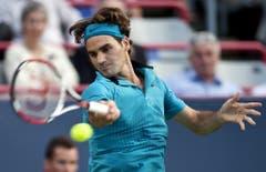 2009: Achtelfinal Montreal: Federer s. Wawrinka 6:3, 7:6 (7:5)Vier Monate später gelingt Roger Federer die Revanche in Nordamerika. Wiederum spielen die beiden Schweizer im Achtelfinale gegeneinander und wiederum sind nur zwei Sätze gespielt, ehe einer der beiden als Sieger feststeht. Diesmal ist es Federer, der im Head-to-Head 3:1 in Führung geht. (Bild: Keystone)