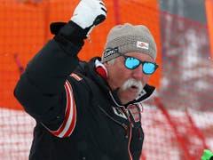 Ein Eckpfeiler in Marcel Hirscher Privatteam: Papa Ferdinand «Ferdl» (Bild: KEYSTONE/AP/ALESSANDRO TROVATI)