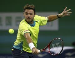 2012: Achtelfinal Shanghai: Federer s. Wawrinka 4:6, 7:6 (7:4), 6:0Auch das zweite Duell des Jahres geht an Federer, obschon Stan Wawrinka am Sieg schnuppert. Im Tie-Break des zweiten Satzes ist Federer zu stark und danach gewinnt Wawrinka kein Game mehr. Er scheitert erneut an seinem Freund. (Bild: Keystone)