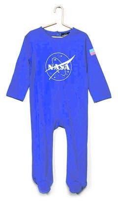 Hochfliegende Erwartungen an den Nachwuchs: Kinderschlafanzug von Kiabi. Bild: zvg