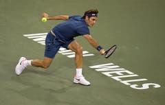 2019: Sechzehntelfinal Indian Wells: Federer s. Wawrinka 6:3, 6:4Einmal mehr ist Federer für Wawrinka eine Nummer zu gross. In der 3. Runde von Indian Wells benötigt der Baselbieter nur eine knappe Stunde für den Zwei-Satz-Sieg. Gewonnen hat er das Turnier indes nicht, im Final unterlag er Dominic Thiem. (Bild: Keystone)
