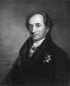 Johann Wolfgang von Goethe Dichter und Naturforscher:«Ich kann in acht Tagen nicht aus Büchern herauslesen, was Humboldt mir in einer Stunde vorträgt.»