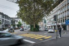 So wie Passantinnen und Passanten das Haus Union am Oberen Graben in St.Gallen kennen. (Bild: Michel Canonica - 23. September 2016)