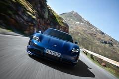 Porsche Taycan Turbo. (Bild: Porsche)