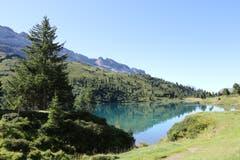 Es war ein super schöner Tag für die Vier-Seen-Wanderung. Bild: Irene Wanner Engstlensee, 4. September 2019)