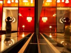 Die erste Ausstellung in dem Museum zeigt unter dem Titel «Versuchsstätte Bauhaus. Die Sammlung» eine Auswahl von 1200 Exponaten aus der Sammlung der Stiftung Bauhaus Dessau. (Bild: KEYSTONE/AP/JENS MEYER)
