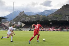 Die Schweiz hat in der zweiten Halbzeit einen Gang runtergeschaltet. (Bild: Keystone)