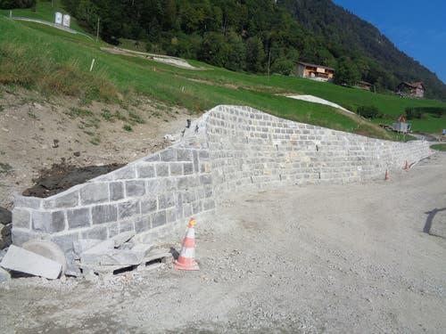 So präsentiert sich die fertige Mauer. (Bild: PD)