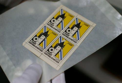 Oder Marken des 6. Zuger Kantonalschiessens 1932.