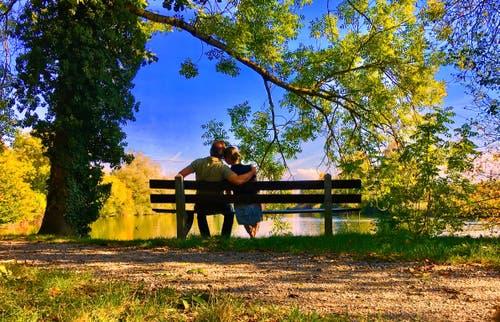 Meine Partnerin und ich. (Oliver R. (Luzern, 14. Oktober 2018))