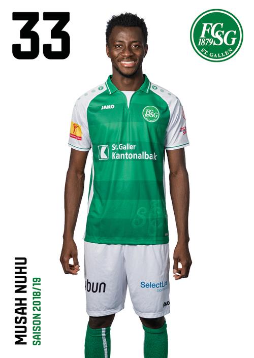 Musah Nuhu: Note 4,5. Neben Stergiou der zweite Super-League-Débutant des Abends. Kopfballstark. Der 22-Jährige verleiht St.Gallen mehr Robustheit.