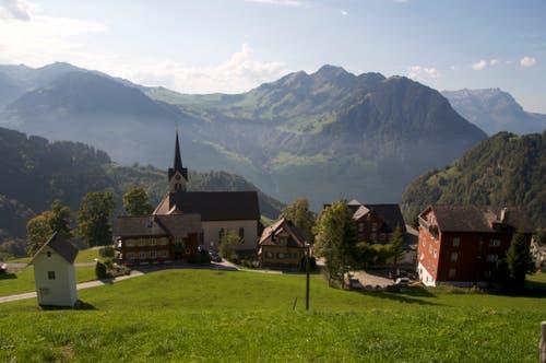 Ein malerisches Dorf. (Bild: Regula Aeppli (Niederrickenbach, 30. September 2018))