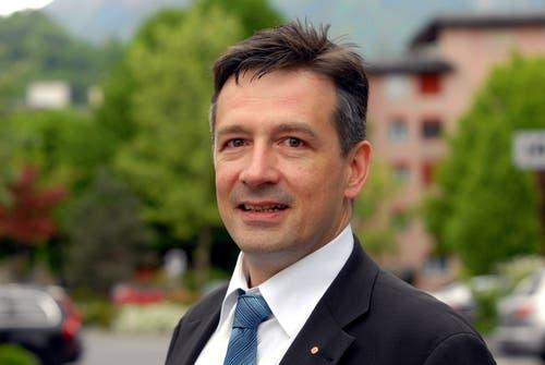 Hans Wicki wurde 2006 in stiller Wahl als Nachfolger von Ralph Sigg zum Gemeindepräsidenten von Hergiswil gewählt. (Bild: Fabian Fellmann)