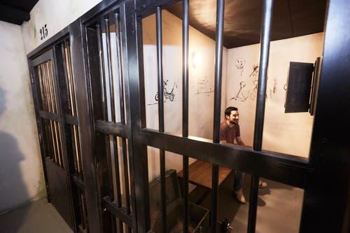 Klassische Flucht: Bei «Prison Break» muss der Besucher aus dem Gefängnis ausbrechen.