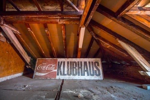 Auch im Dachstock stehen wichtige Arbeiten an. Weil er aber auch nach dem Umbau nicht mehr betriebstauglich sein wird, bleibt er geschlossen.